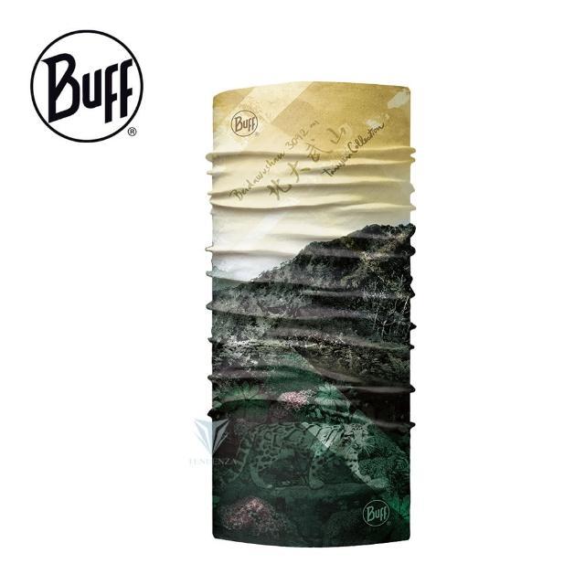 【BUFF】BF124442 Coolnet抗UV頭巾-台灣系列-北大武山(BUFF/Coolnet/抗UV/涼感頭巾)