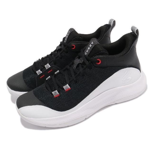 【UNDER ARMOUR】籃球鞋 3Z5 明星款 運動 男鞋 Curry 避震 包覆 支撐 球鞋 黑 白(3023087006)