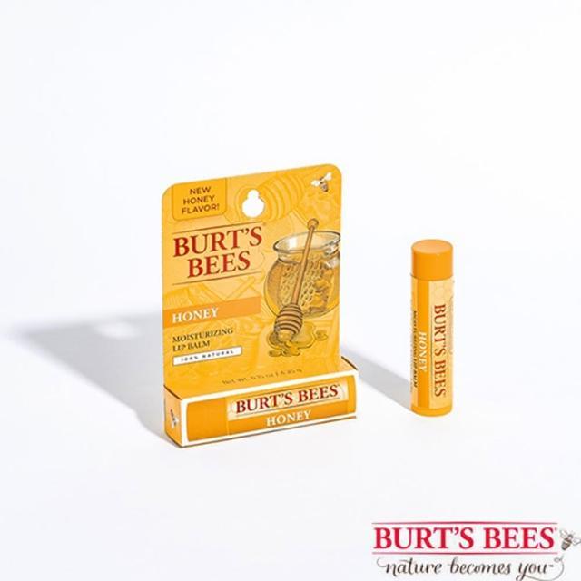 【BURT'S BEES】蜂蜜護唇膏3入-2022年02月到期(護唇膏/蜜蜂爺爺/天然有機/小蜜蜂/天然/神奇紫草霜/)