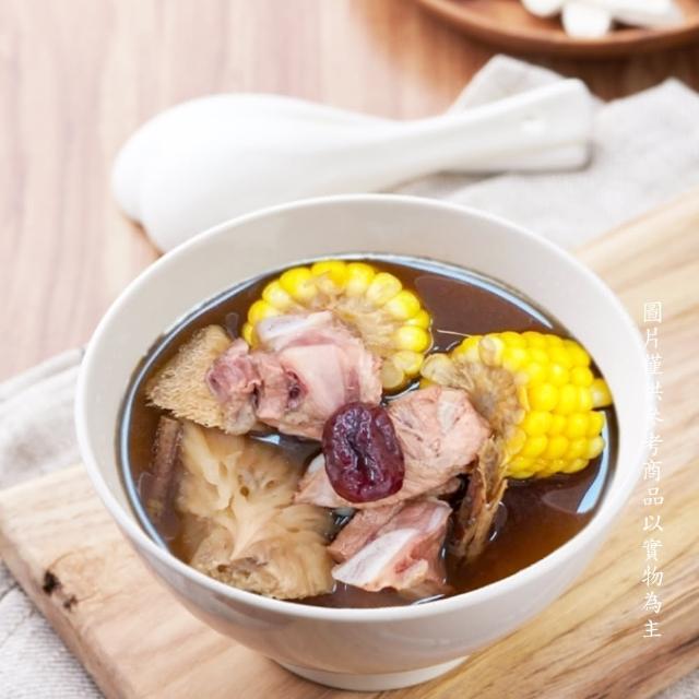 【新益燉湯 Numeal】杜仲紅棗排骨湯(台灣豬 養身秘方 體質調養 居家保健)