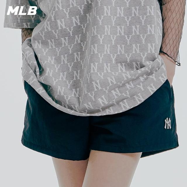 【MLB】休閒短褲 基本款 素色 紐約洋基隊(31SMU1131-50L)