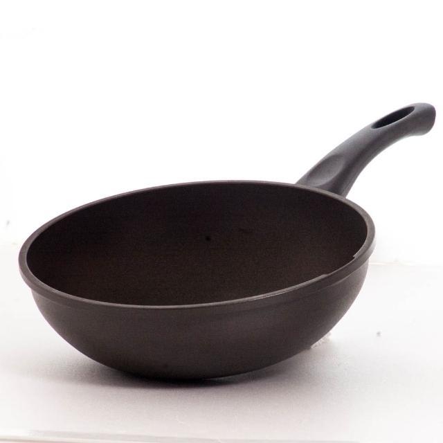 【UNICOOK 優樂】樂廚 手工鑄造不沾深炒鍋(30cm)