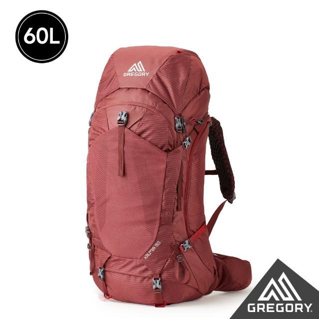 【Gregory】女 60L KALMIA登山背包 XS/S(波爾多紅)