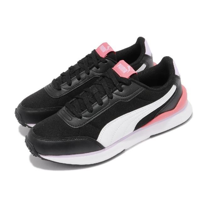 【PUMA】休閒鞋 R78 FUTR Decon 女鞋 基本款 網布 透氣 復古 穿搭 黑 白(37489606)