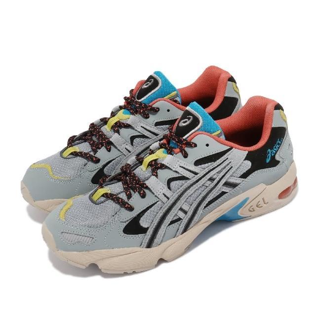 【asics 亞瑟士】休閒鞋 Gel-Kayano 5 OG 男鞋 亞瑟士 誇張線條 穿搭 流行款 亞瑟膠 灰 橘(1191A148020)