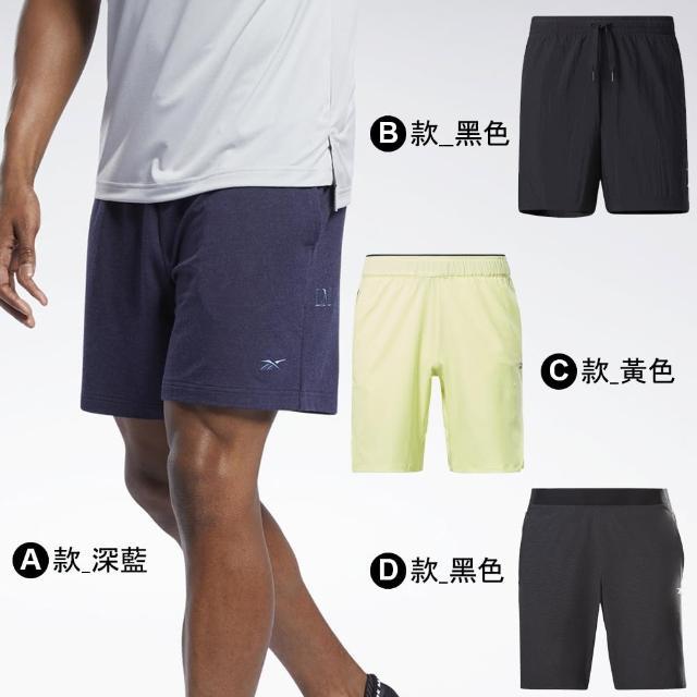 【REEBOK】男 運動短褲 舒適 多款任選(GN5950 GJ6321 GN5965 GP6965)