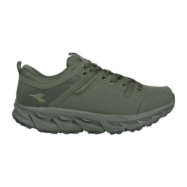 【DIADORA】男MIT戶外野趣越野鞋-E寬楦-台灣製 登山 運動 軍綠(DA71188)