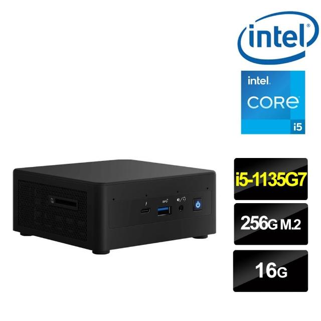 【Intel 英特爾】NUC平台i5四核{鬼神英雄II} 迷你電腦(i5-1135G7/16G/256G M.2 PCIe SSD)