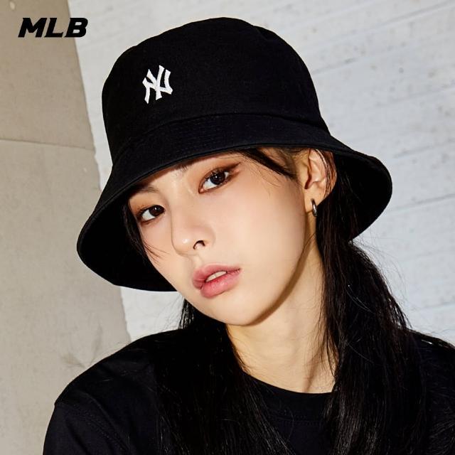 【MLB】漁夫帽 基本款 素色 紐約洋基隊(3AHT7701N-50BKS)