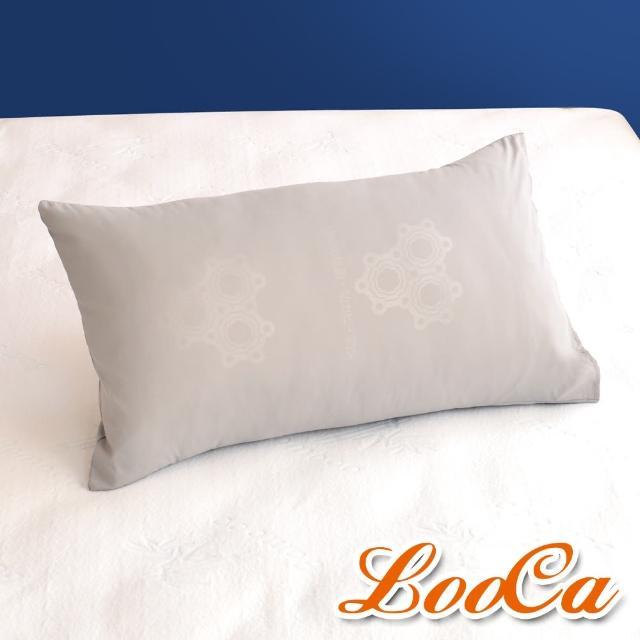 【LooCa】特濃石墨烯遠紅外線枕套(2入)