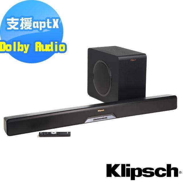 【Klipsch】2.1聲道單件式環繞SoundBar RSB-11(送清淨機AP-002+光纖線)