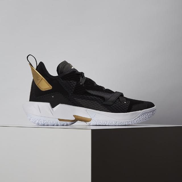 【NIKE 耐吉】Jordan Why Not Zer0.4 PF 男款 黑 金 包覆 避震 運動 籃球鞋 CQ4231-001