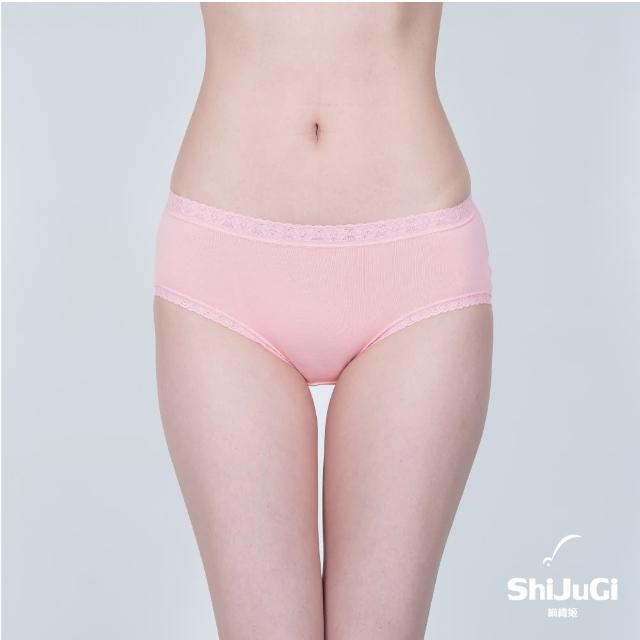 【細織姬ShiJuGi】彈力棉質女內褲 三角褲(12件組 隨機取色M-XL)