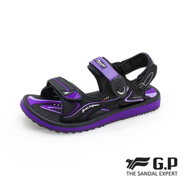 【G.P】女 高彈力舒適兩用涼拖鞋 女鞋(紫)