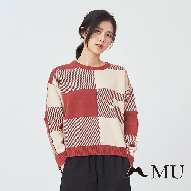 【maru.a】MU 知性暖暖針織上衣(黑色)