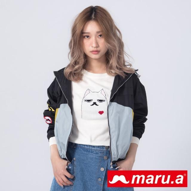 【maru.a】經典Miru親膚針織衫(白色)