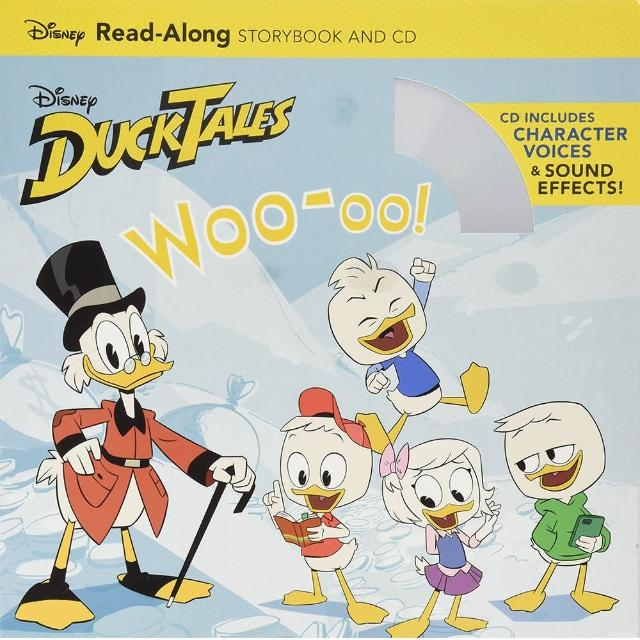 【Song Baby】DuckTales WOO-OO! Read-Along Storybook And CD 唐老鴨有聲讀本(CD書)