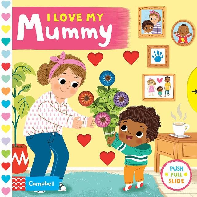【Song Baby】I Love My Mummy 我愛媽媽(操作書)