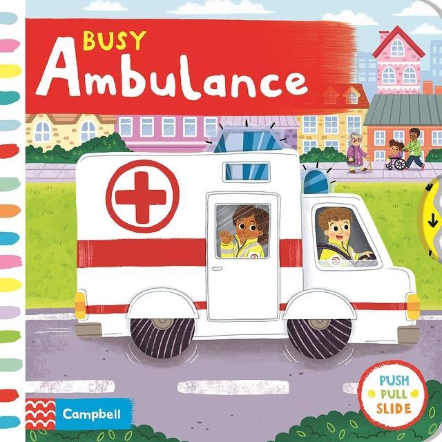 【Song Baby】Busy Ambulance 忙碌的救護車(操作書)