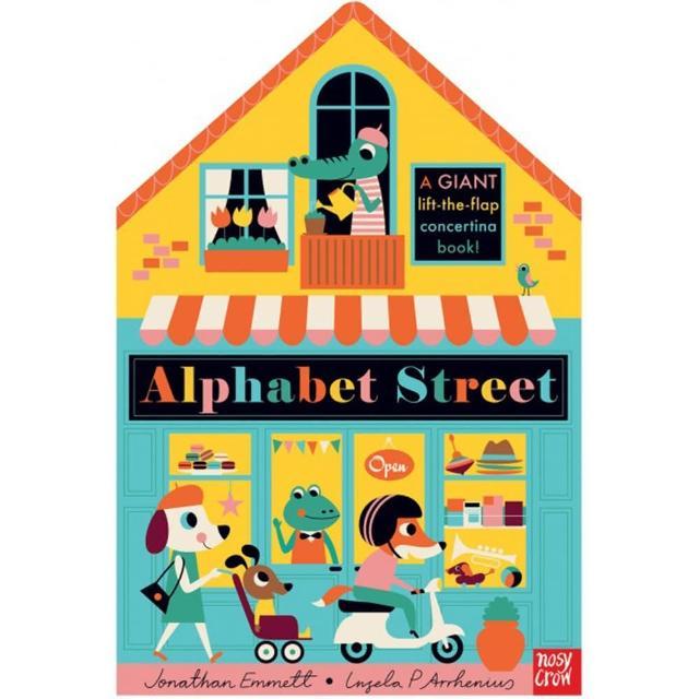 【Song Baby】Alphabet Street 街道字母(遊戲書)
