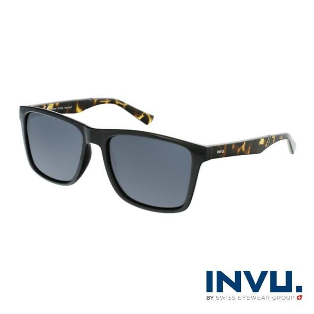 【INVU】來自瑞士品牌經典偏光太陽眼鏡(黑琥珀 B2106A)