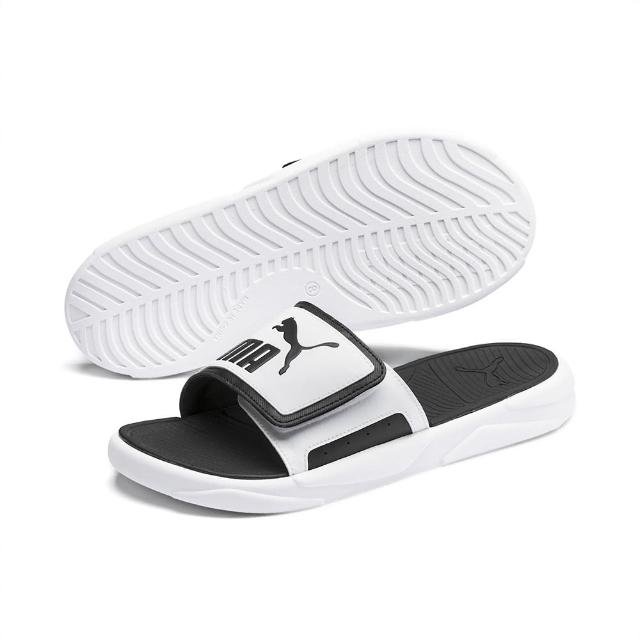 【PUMA】拖鞋 男鞋 女鞋 運動 Royalcat Comfort 白黑 37228002