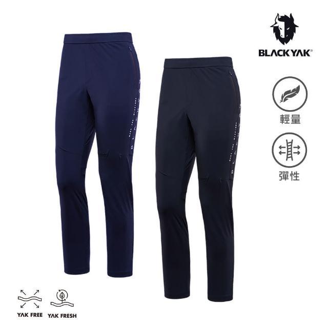 【BLACK YAK】男 SPURT運動長褲[海軍藍/黑色]BYAB1MP210(韓國春夏 長褲 男長褲)