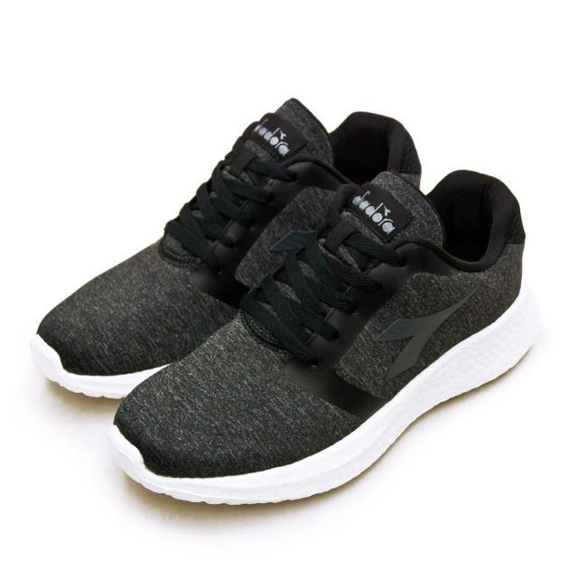 【DIADORA】男 迪亞多那 專業無縫TPU避震慢跑鞋 ETPU彈力球系列(灰黑 73152)
