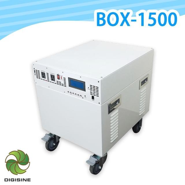 【DIGISINE】BOX-1500多功能行動備用電源箱24V/110V(停電必備 長照相關儀器 1500W最大輸出/1800Wh電池容量)