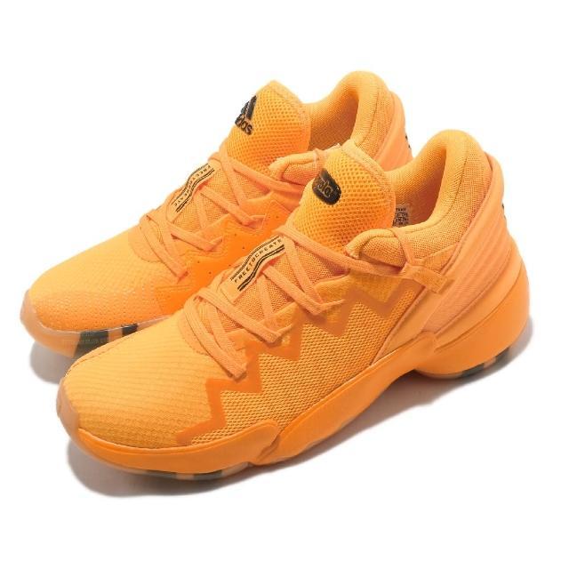 【adidas 愛迪達】籃球鞋 D.O.N. ISSUE 2 GCA 男鞋 愛迪達 Crayola 蠟筆 米邱 二代 黃(FW9048)