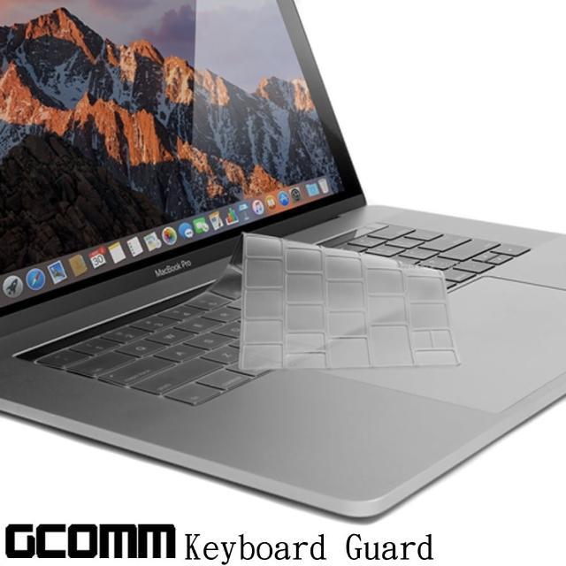 【GCOMM】Apple MacBook Pro Touch Bar 13吋/15吋 鍵盤保護膜(內附GCOMM ScreenCleanPRO抗靜電清潔布)