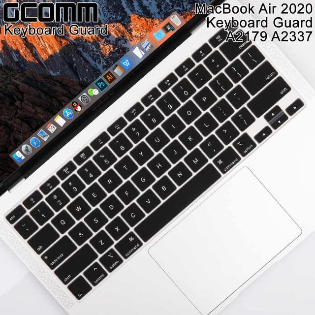 【GCOMM】Apple 2020 MacBook Air 13吋 A2179 A2337 鍵盤保護膜(內附GCOMM抗靜電清潔布)