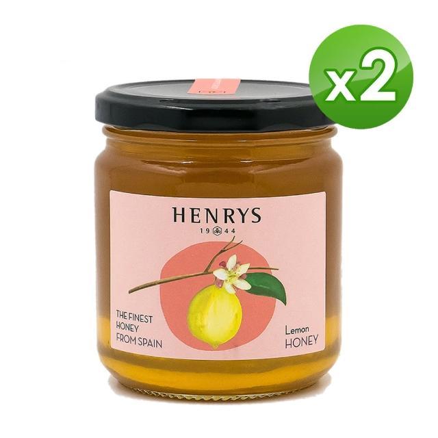 【HENRYS 亨利優蜜】西班牙進口蜂蜜-薰衣+檸檬禮盒(500g x 2)