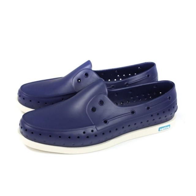 【native】HOWARD 休閒鞋 懶人鞋 深藍色 男鞋 NO. 11101100-4200