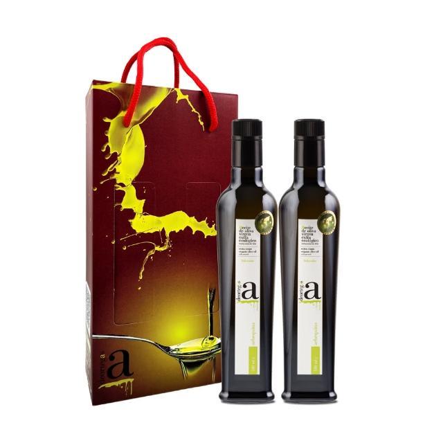 【DEORTEGAS 帝歐】帝歐特級初榨橄欖油Arbequina-500mlx2入禮盒(台灣總代理原瓶原裝進口)