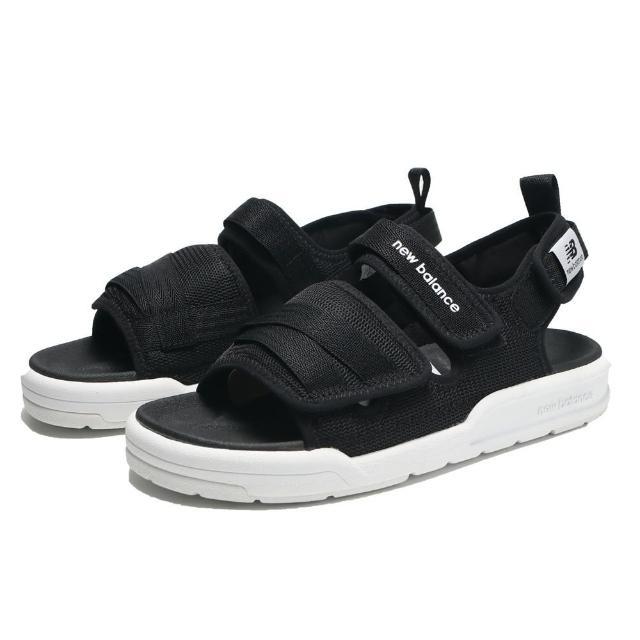 【NEW BALANCE】涼鞋 黑色 魔鬼氈 輕量 休閒 男女(SDL3206B)