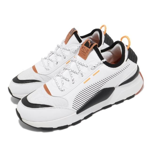 【PUMA】休閒鞋 RS-0 Trail 襪套式 男鞋 海外限定 復古 百搭 緩震 白 黑(37182901)