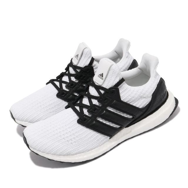 【adidas 愛迪達】慢跑鞋 Ultraboost DNA 運動 男鞋 海外限定 愛迪達 襪套 避震 包覆 球鞋 白 黑(FZ2895)