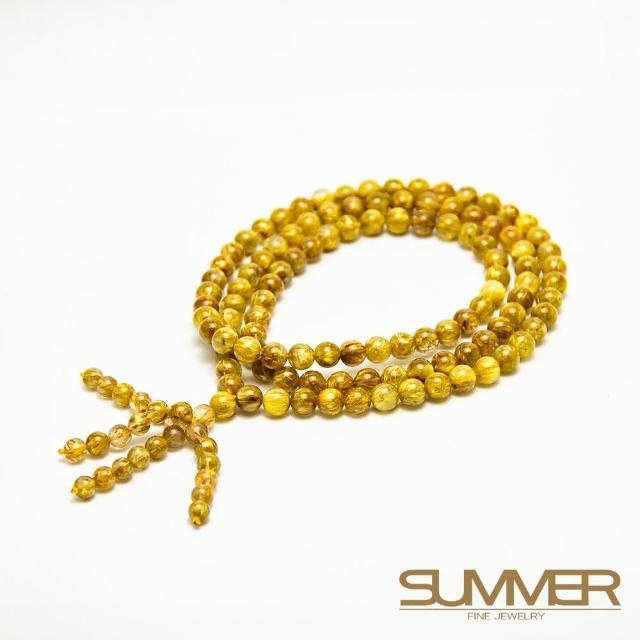 【SUMMER 寶石】108顆鈦晶念珠