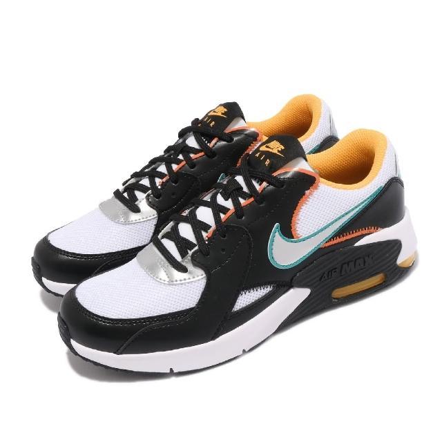 【NIKE 耐吉】休閒鞋 Air Max Excee D2N 女鞋 海外限定 氣墊 舒適 避震 簡約 穿搭 黑 銀(CJ2002-100)