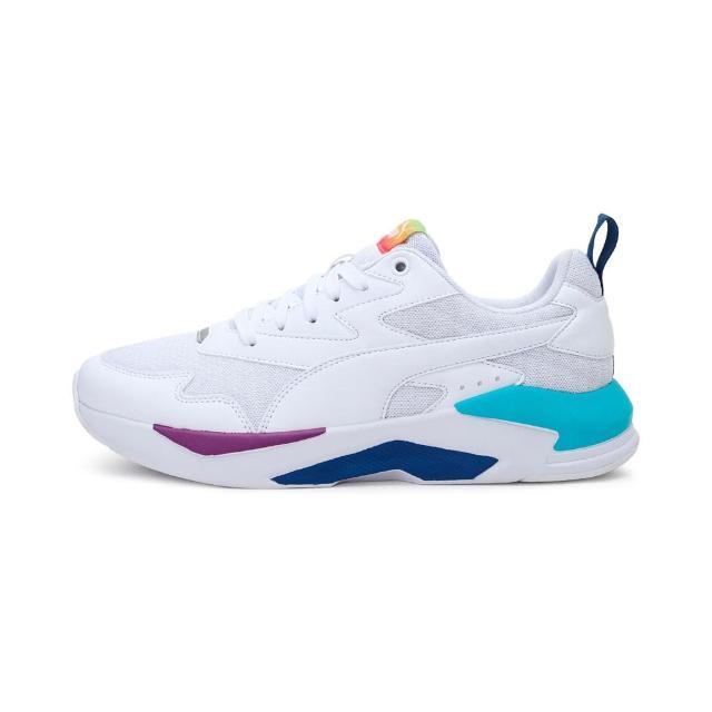【PUMA】休閒鞋 男鞋 女鞋 運動 健身 慢跑 X-Ray Lite Rainbow 白 36886302