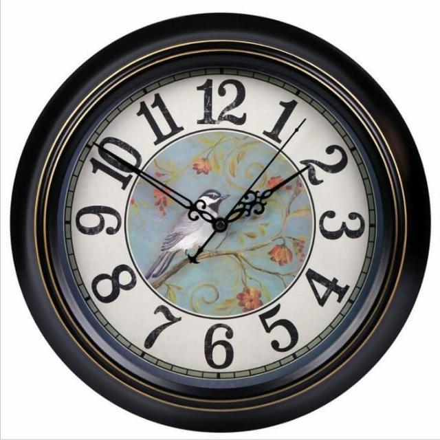 【媽媽咪呀】職人手作頂級古典掛鐘-歐洲研發台灣製機芯(畫眉春曉)