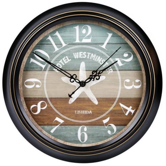 【媽媽咪呀】職人手作頂級古典掛鐘-歐洲研發台灣製機芯(海洋之星)