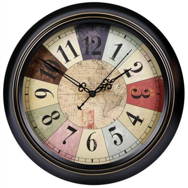 【媽媽咪呀】職人手作頂級古典掛鐘-歐洲研發台灣製機芯(日不落島)