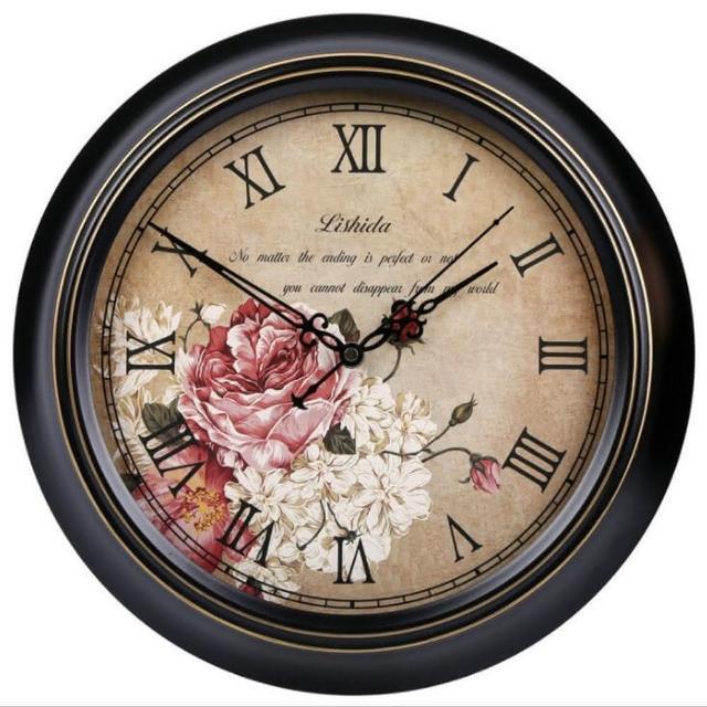 【媽媽咪呀】職人手作頂級古典掛鐘-歐洲研發台灣製機芯(傾城之戀)