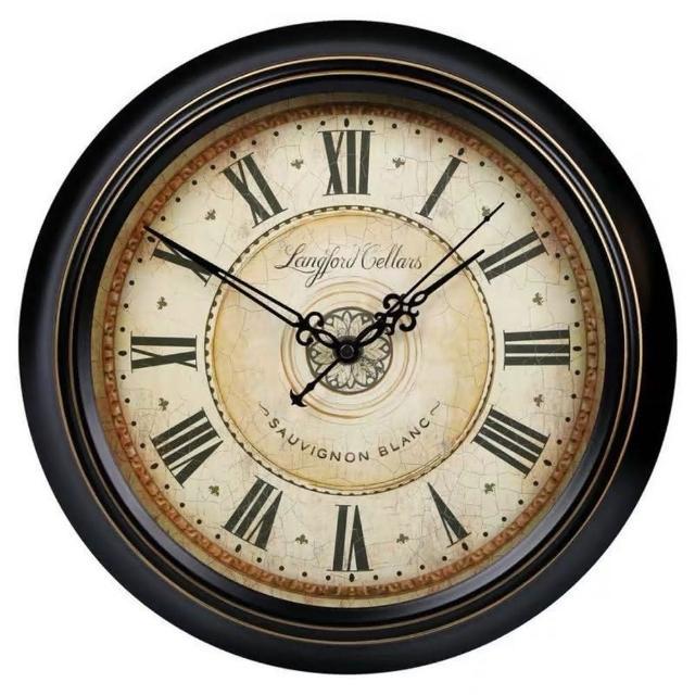 【媽媽咪呀】職人手作頂級古典掛鐘-歐洲研發台灣製機芯(英倫老鐘)