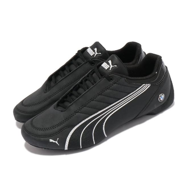 【PUMA】休閒鞋 MMS Future Kart Cat 男鞋 海外限定 賽車鞋 BMW 皮革鞋面 穿搭 黑 白(30646901)