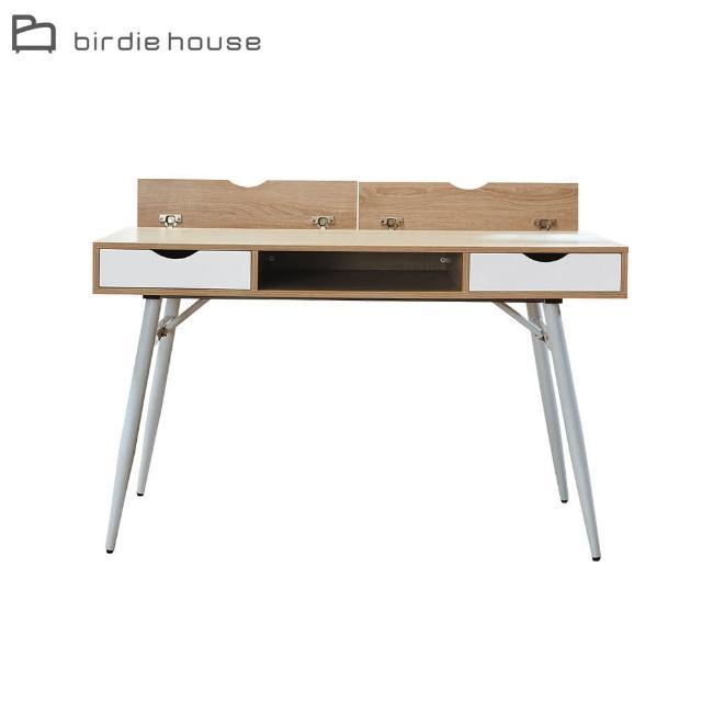 【柏蒂家居】邦尼4尺二抽簡約書桌/工作桌