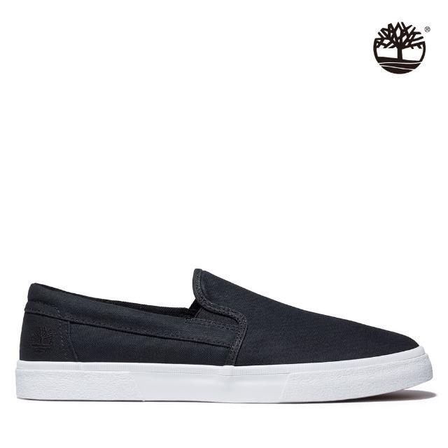 【Timberland】男款黑色天絲玻璃纖維Union Wharf 2.0 EK+便鞋(A42RB015)