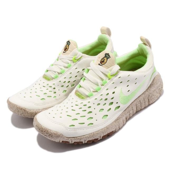【NIKE 耐吉】慢跑鞋 Free Run Trail 運動 男女鞋 襪套 輕量 舒適 避震 赤足 情侶穿搭 棕 綠(CZ9079-100)